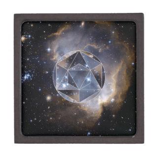 Geometrischer Sternhaufen Schmuckkiste
