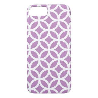 Geometrischer violetter iPhone 7 Kasten iPhone 8/7 Hülle