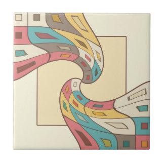 Geometrisches abstraktes fliese