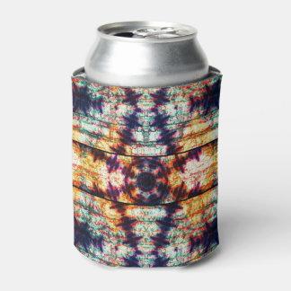 Geometrisches abstraktes Mehrfarbenmuster Dosenkühler
