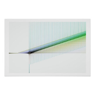 Geometrisches abstraktes Plakat