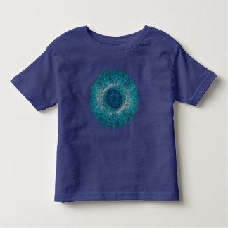 Geometrisches Blatt-Motiv Kleinkind T-shirt