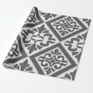 Geometrisches Designer-Muster-Vintager Entwurf Geschenkpapier