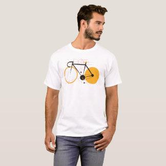 Geometrisches Fahrrad T-Shirt