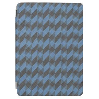 geometrisches Gewebe gezeichneter bunter Entwurf iPad Air Cover