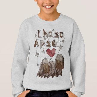 Geometrisches Lhasa Apso Sweatshirt