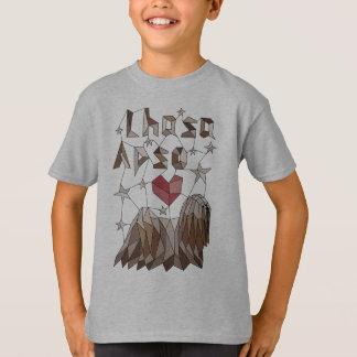 Geometrisches Lhasa Apso T-Shirt