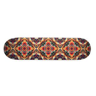Geometrisches Motiv Personalisiertes Skateboarddeck