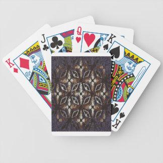 Geometrisches Muster. Abstrakter Hintergrund Bicycle Spielkarten