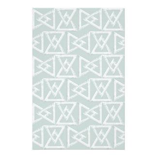 Geometrisches Muster der Dreiecke Individuelles Druckpapier