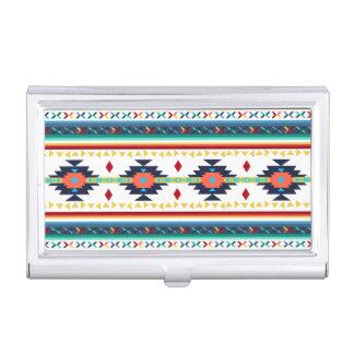 geometrisches Muster des modischen Stammes- Visitenkarten Etui