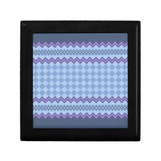 Geometrisches Muster Geschenkbox