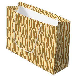 Geometrisches Muster Große Geschenktüte