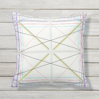 Geometrisches Muster Kissen