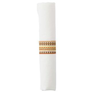 Geometrisches Muster Serviettenband