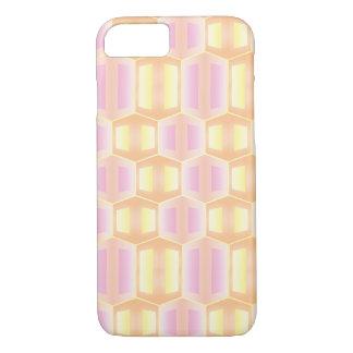 Geometrisches Weiche farbiges Muster iPhone 8/7 Hülle