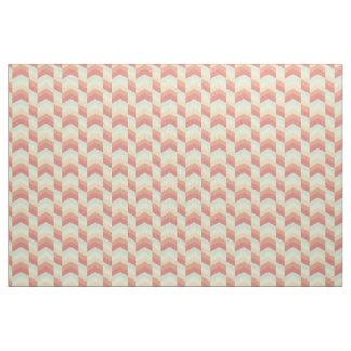 Geometrisches Zickzack Muster-coole Pastellfarben Stoff