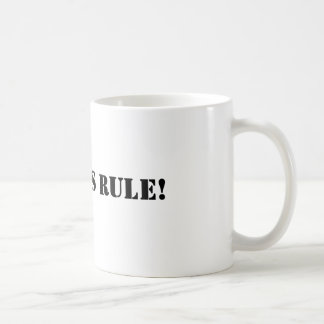 Geordies Regel Kaffeetasse