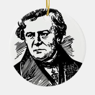 Georg Ohm Rundes Keramik Ornament