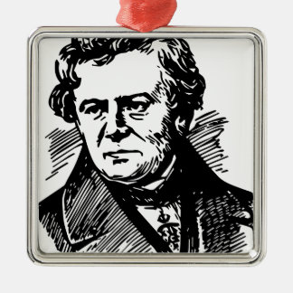 Georg Ohm Silbernes Ornament