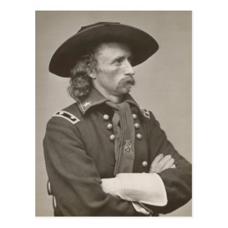 George Armstrong Custer Postkarte