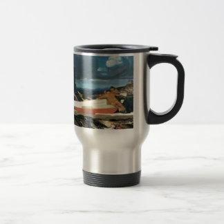 George Bellows das große Ruderboot Reisebecher