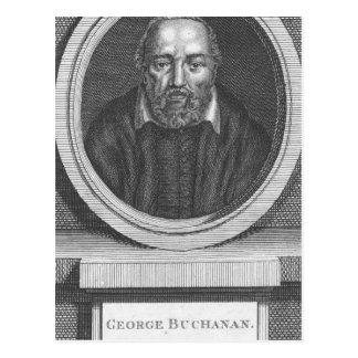 George Buchanan, graviert für universelle Postkarte
