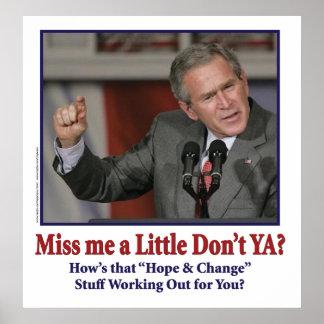 George Bush/Fräulein Me Just wenig? Poster