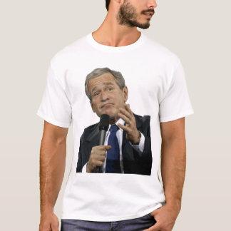 George Bushshrug; Traurig brachen wir Ihr Land T-Shirt