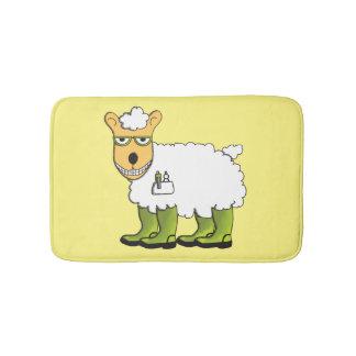 George die Schafe Badematte