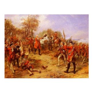 George II bei Dettingen Postkarte