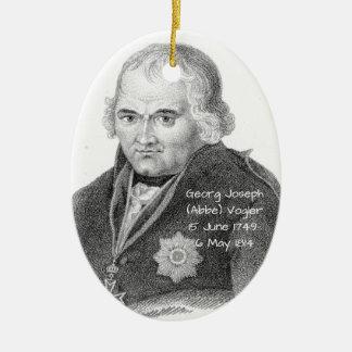 George Joseph (Abbe) Vogler Keramik Ornament