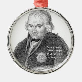 George Joseph (Abbe) Vogler Silbernes Ornament