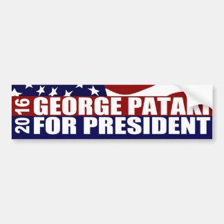 George Pataki Präsident 2016 Autoaufkleber