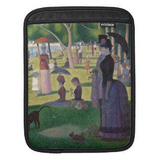 GEORGE SEURAT - 1884 Sonntag Nachmittag iPad Sleeve