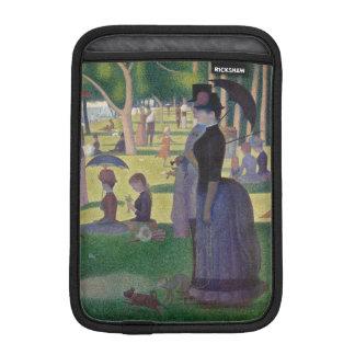 GEORGE SEURAT - 1884 Sonntag Nachmittag Sleeve Für iPad Mini