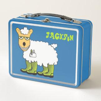 George- und Jett-Brotdose Metall Lunch Box