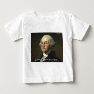 """George Washington """"Aktionen nicht fasst"""" Baby T-shirt"""