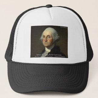 """George Washington """"Aktionen nicht fasst"""" Truckerkappe"""