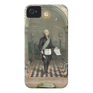 George Washington als Freimaurer Case-Mate iPhone 4 Hülle