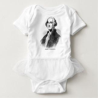 George Washington Baby Strampler