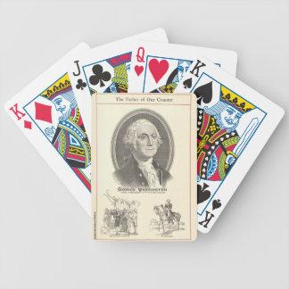 George Washington Bicycle Spielkarten
