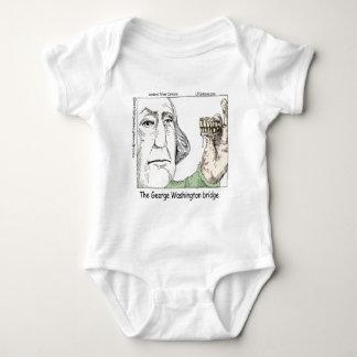 George Washington-Brücken-lustige Geschenke Baby Strampler