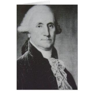 George Washington (Detail) 1975 Karte