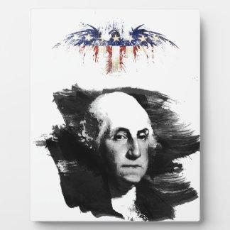 George Washington Fotoplatte