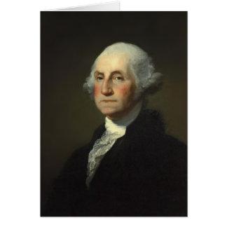 George Washington-Gruß-Karte Karte