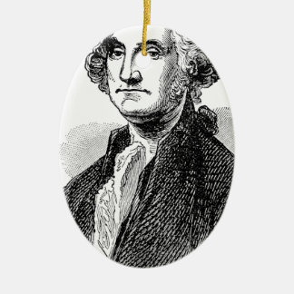 George Washington Keramik Ornament