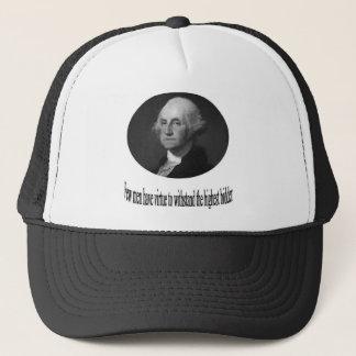 George Washington mit Zitat Truckerkappe