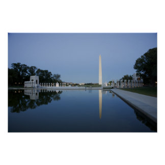 George Washington-Monument; 2006 am 15. Oktober. Poster