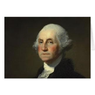 George Washington Notecards Karte